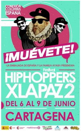Muévete! Llega a Cartagena el festival  Hiphoppers x la paz  a7bafeb818f