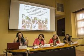 Presentación del conversatorio sobre los derechos de las víctimas de violencia armada