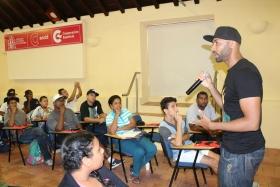 Arranca el festival  Hiphoppers x la paz  en la Cooperación Española d626c0bf24b
